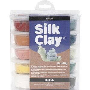 Silk Clay douche farver