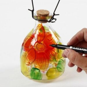 Hvepsefanger af glas